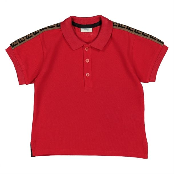 Baby Boys 'ff' Branded Polo Top