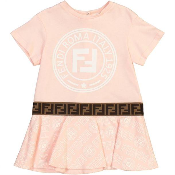 Baby Girls Fendi Roma Dress