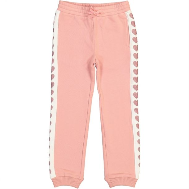 Girls Heart Jersey Track Pant