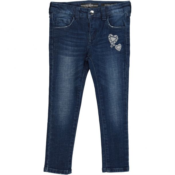 Girls Heart Guess Skinny Jeans