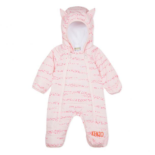 Baby Girls Animal Snowsuit