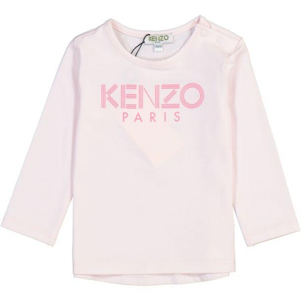 Baby Girls Light Pink T-shirt
