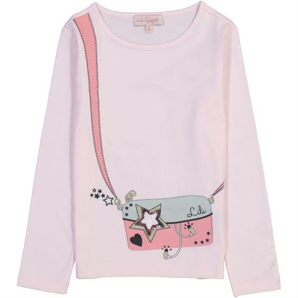 Girls 'laflora' Bag T-shirt