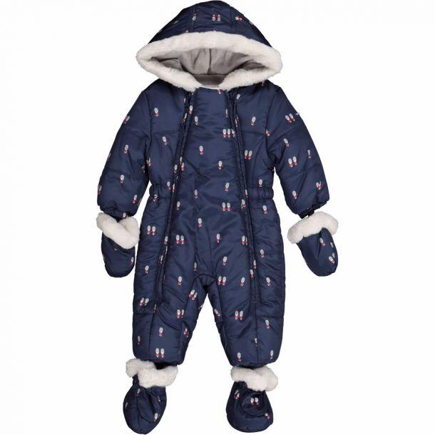 Baby Boy Navy Soldier Snowsuit