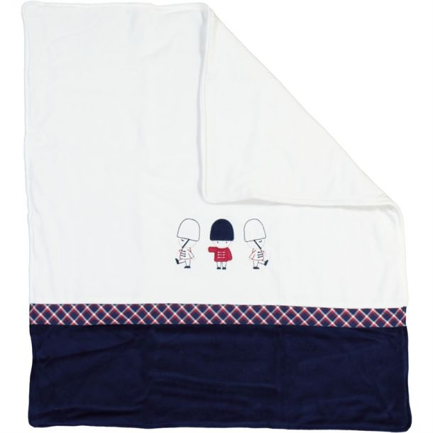 Baby Boys Soldier Blanket
