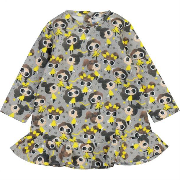 Baby Girls Girl Print Dress