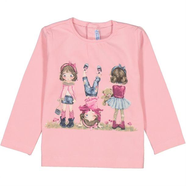Baby Girls Trio Girl T-shirt