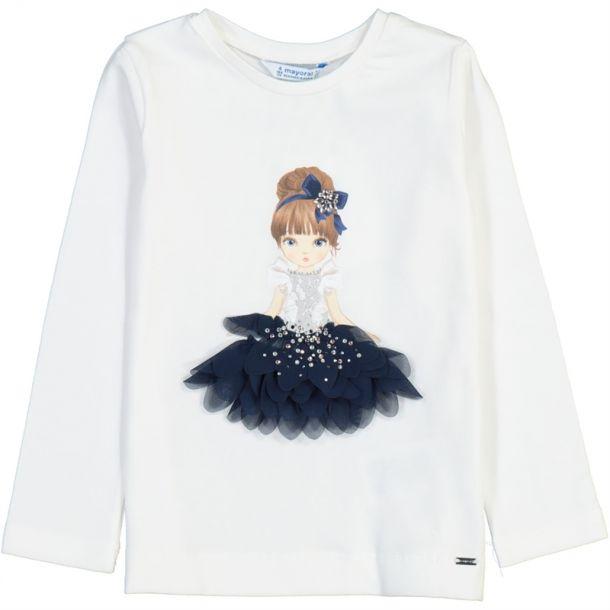 Girls Petal Princess T-shirt