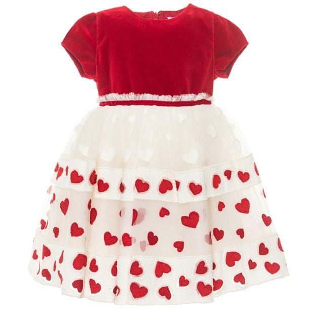 Baby Girls Velvet Tulle Dress