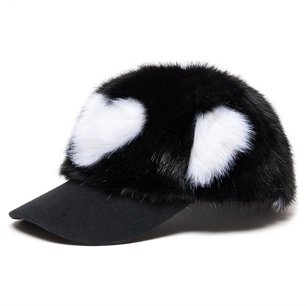 Girls Faux Fur Cap