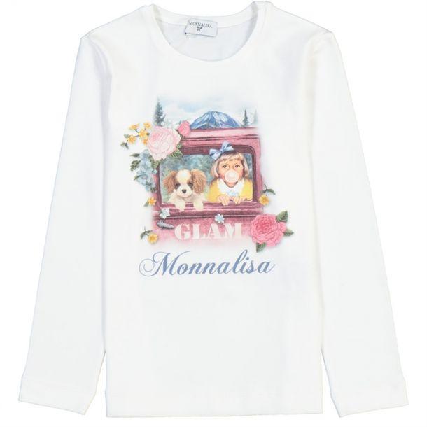 Girls Print Jersey T-shirt