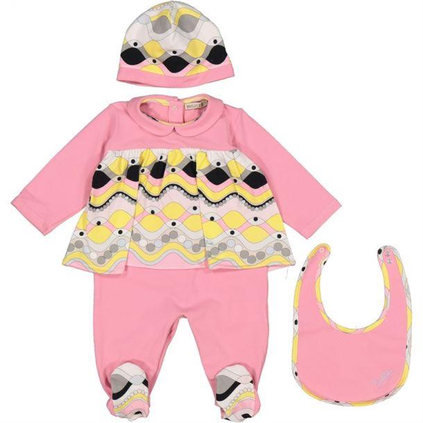 Baby Girls 3 Piece Gift Set
