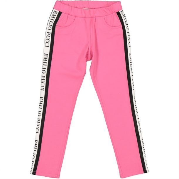 Girls Pucci Branded Trousers