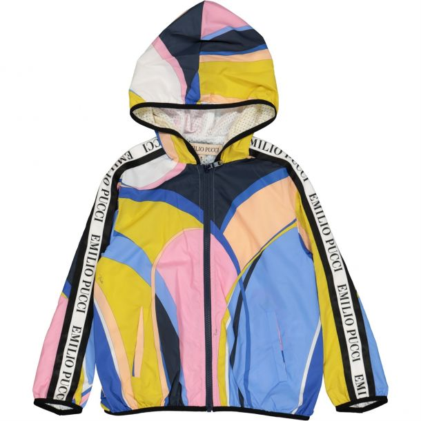 Girls Pucci Print Windbreaker