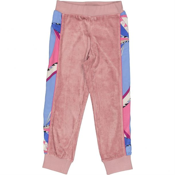 Girls Pucci Velour Track Pants