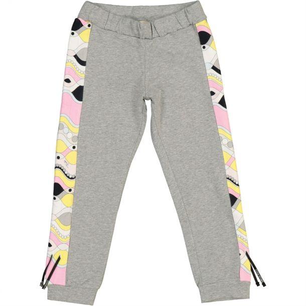Girls Jersey Pucci Track Pants