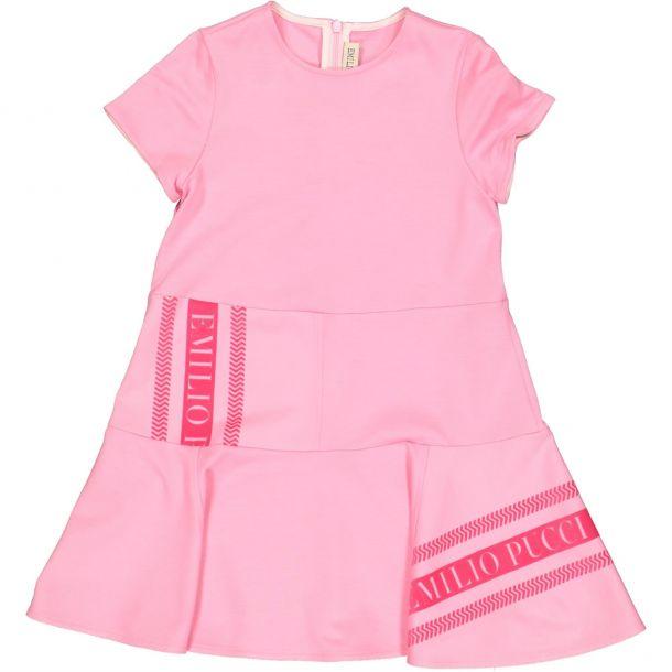 Girl Pucci Milano Jersey Dress