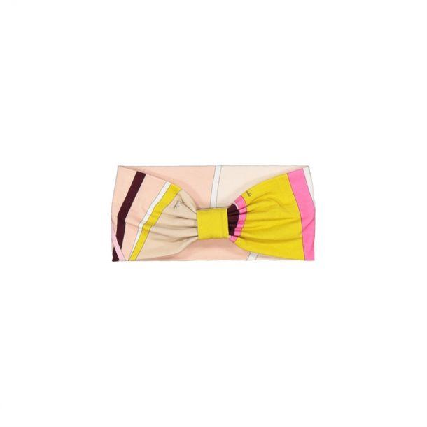 Girls Pink Pucci Headband