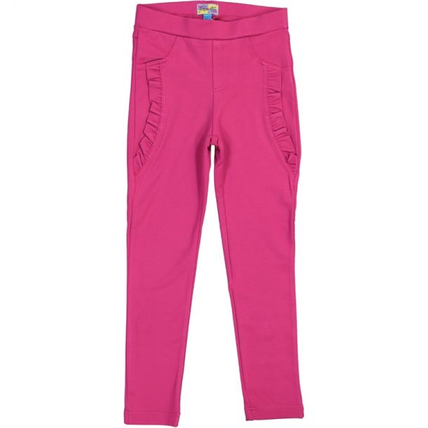 Girls Frill Jersey Legging
