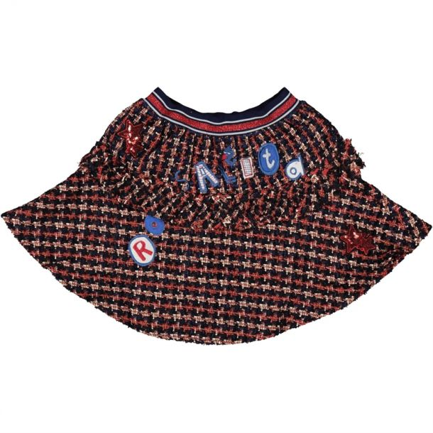 Girls Rosalita Tweed Skirt
