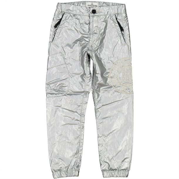 Boys Metallic Branded Trousers