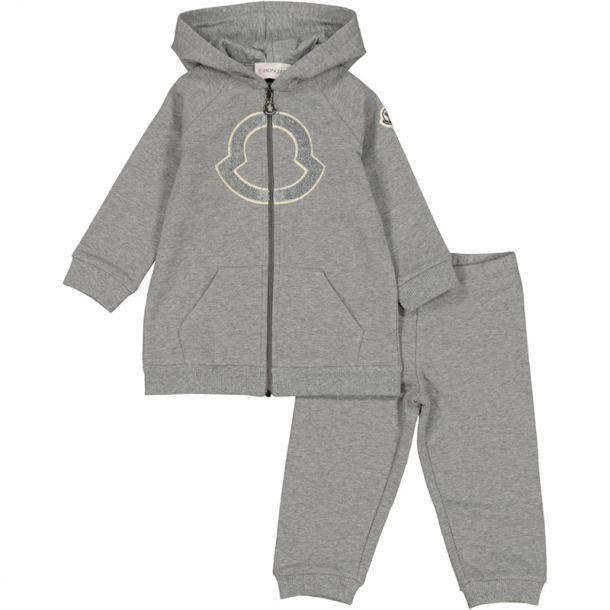 Baby Girls Grey Tracksuit