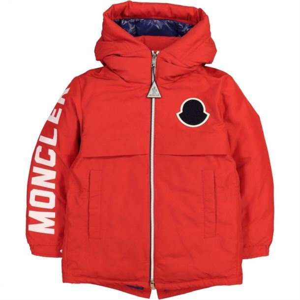Boys Red Airon Jacket