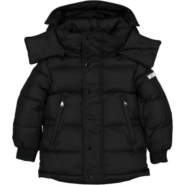 Boys Black Soubiran Coat