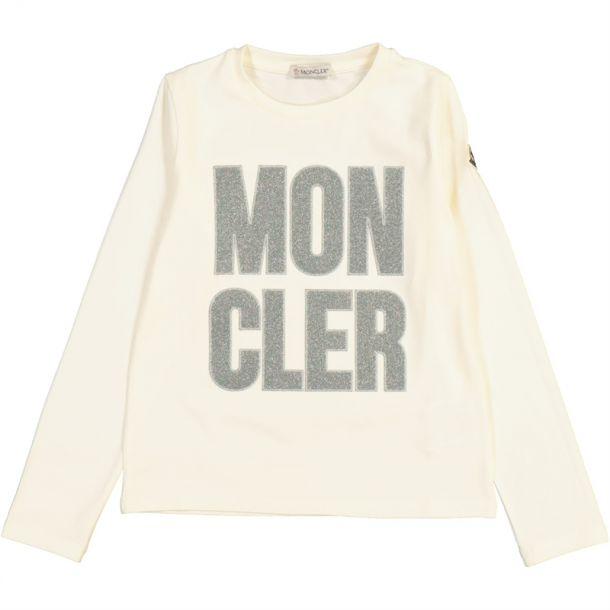 Girls Glitter Branded T-shirt