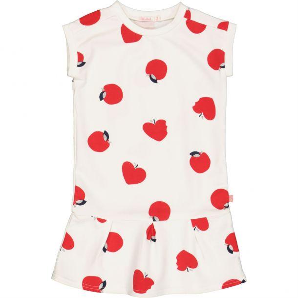 Girls Apple Print Dress