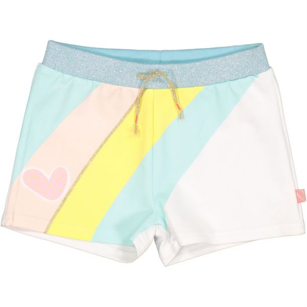 Girls Rainbow Print Shorts