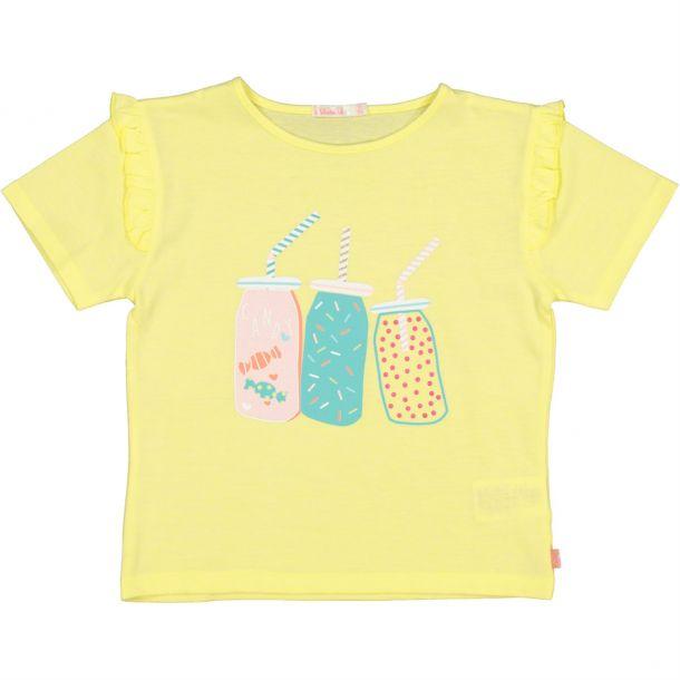 Girls Drinks Print T-shirt