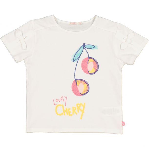 Girls 'lovely Cherry' T-shirt