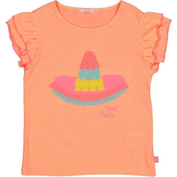 Girl Sombrero Applique T-shirt