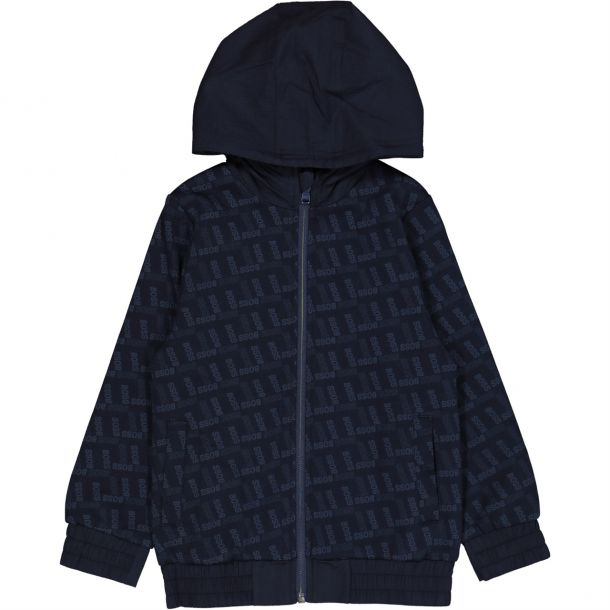Boys Embossed Reversible Jacket
