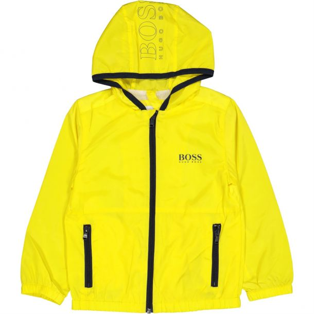 Boys Yellow Windbreaker