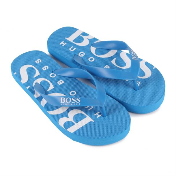 Boys Turquoise Flip Flops