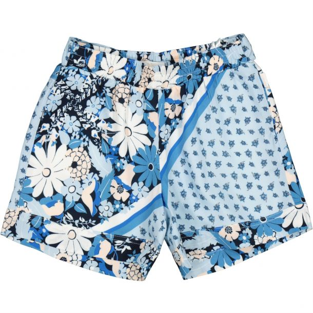 Girls Floral Print Shorts