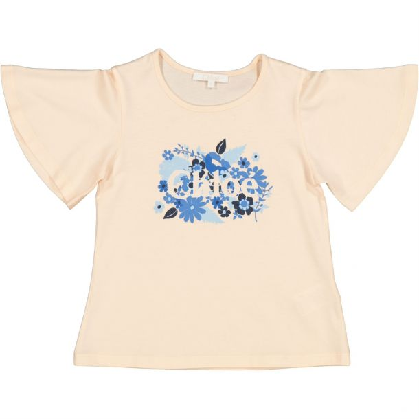 Girls Blossom Print T-shirt
