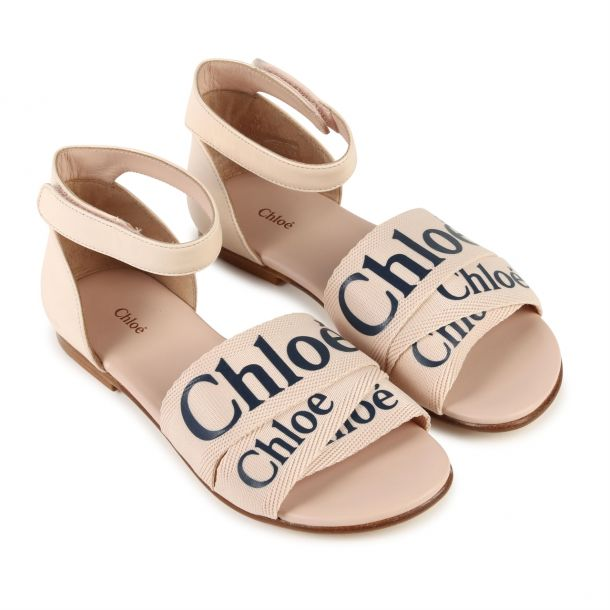 Girls Chloe Branded Sandal