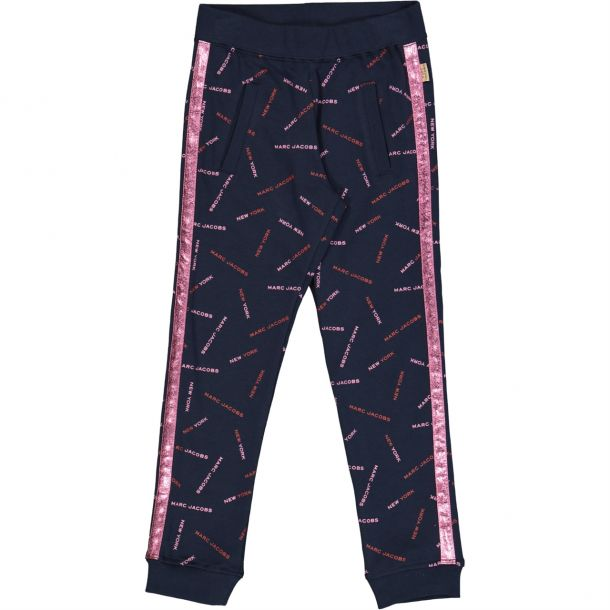 Girls Logo All Over Track Pant