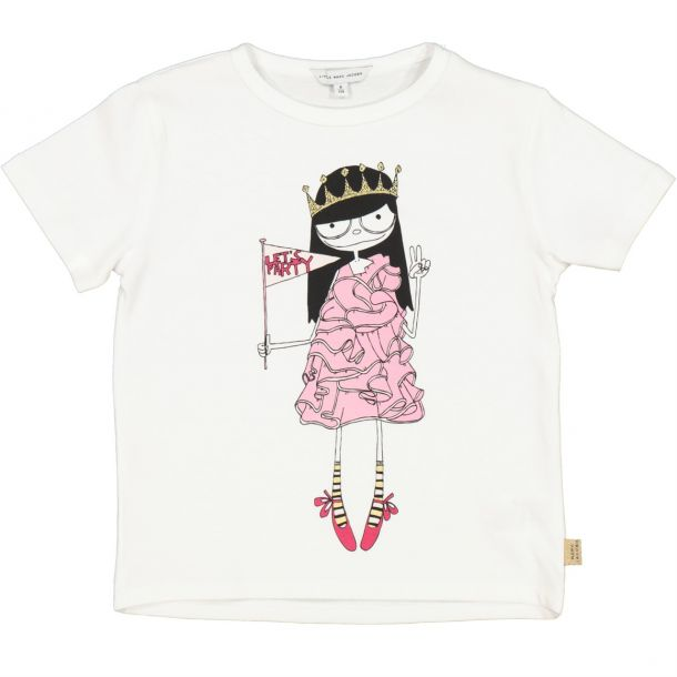 Girls Miss Marc Party T-shirt
