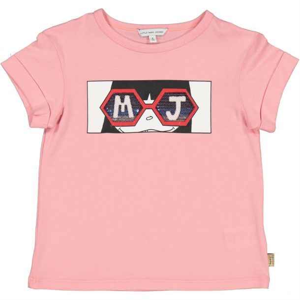 Girl Miss Marc Glasses T-shirt