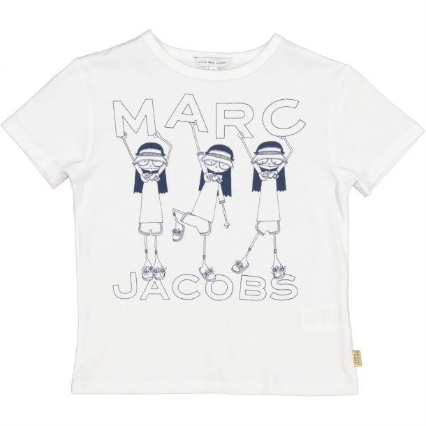 Girls Miss Marc Print T-shirt