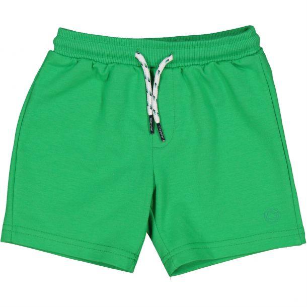 Baby Boys Green Jersey Shorts