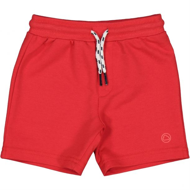 Baby Boys Red Jersey Shorts
