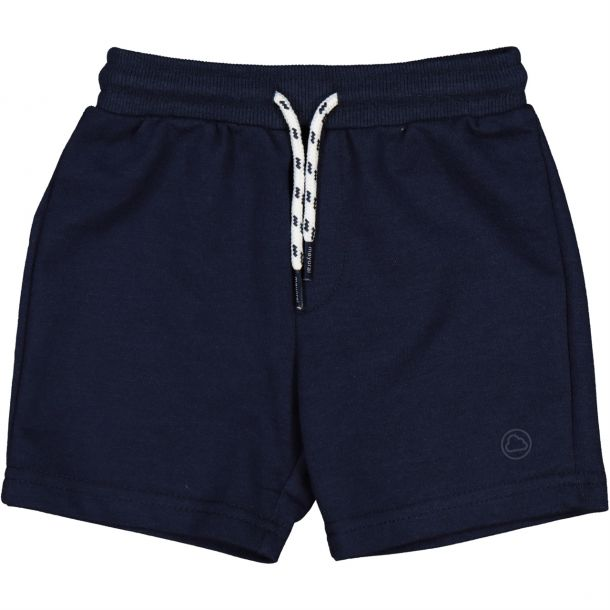 Baby Boys Navy Jersey Shorts