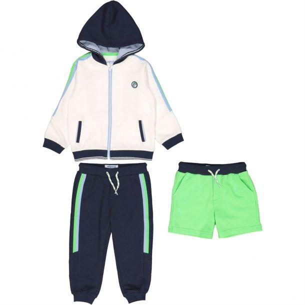 Baby Boys Green 3 Piece Set