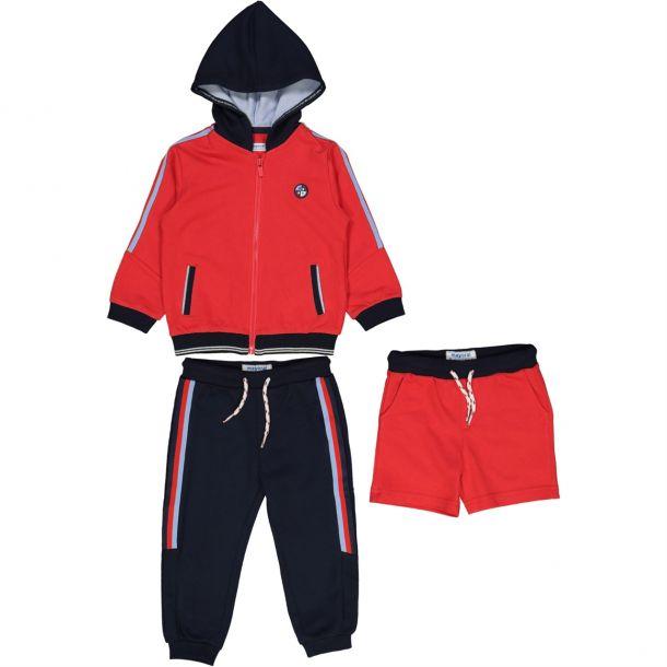 Baby Boys Red 3 Piece Set