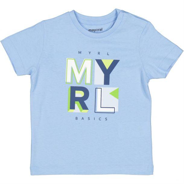 Baby Boys Blue Logo T-shirt